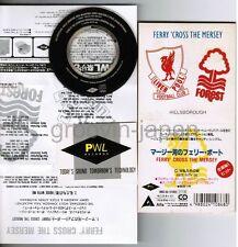 "Ferry 'Cross The Mersey PAUL McCARTNEY JAPAN 3"" CD 09B3-50 w/PWL STICKER&INSERT"