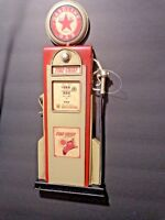 NEW GAS & OIL Fire Chief Gas Pump With Star Metal Wall Decor