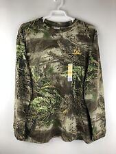 NEW Realtree Mens Shirt 2XL XXL MAX-1 Camo Long Sleeve Hunting Camping Outdoors