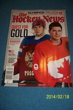 2014 HOCKEY NEWS Olympic SOCHI Preview SIDNEY CROSBY No Label ALEX OVECHKIN