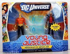 DC Universe Young Justice Aquaman & Aqualad - Heroes of the Deep Action Figures