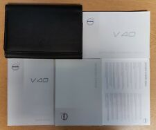 VOLVO V40 SUPPLEMENT OWNERS MANUAL SERVICE BOOK 2013-2018 WALLET H-572