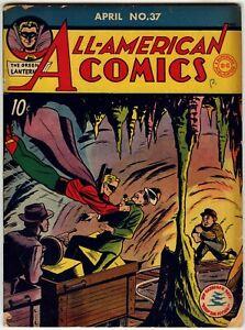 ALL-AMERICAN COMICS #37, 47, 50, 52, 56, 75 (DC COMICS 1942-1946); Green Lantern