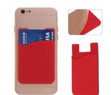 Universal Stick on Credit Card Phone Holder Ultra Slim Wallet Mobile Phone