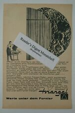 Werbeanzeige/advertisement A5: Triangel Platten - Furnier 1961 (01081645)