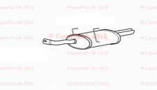MG ZT Rover 75 1.8 2.5 Estate Jul / 2002-Dec / 2007 Rear Exhaust Silencer