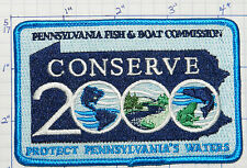 PENNSYLVANIA FISH & BOAT COMMISSION CONSERVE 2000 PATCH