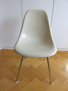 EAMES Side Chair DSX mit H-Base - Herman Miller/Vitra - Fiberglasschale - Nr.3