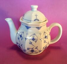 Toscany Collection Teapot - Small - Blue And White Scandinavian Design