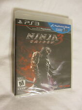 Ninja Gaiden 3 PS3 (PlayStation 3) Brand New, Sealed~