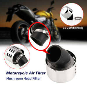 Washable Motorcycle Scooter Air Filter Mushroom Head Air Filter 35-38MM Caliber