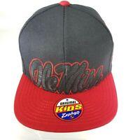 Zephyr Original Kids Snapback Cap Ole Miss Rebels NCAA Flat Bill Youth Size Hat