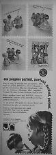 PUBLICITÉ 1966 JOUETS RATIONNELS CETTE POUPÉE MATTEL QUI PARLE - ADVERTISING