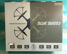 Drocon Bugs 3 Quadcopter Drone Brushless Motors Long Flight Time Camera Support