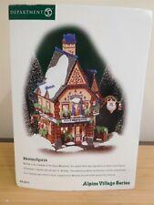 Dept 56 Alpine Village - Nikolausfiguren (St. Nicholas Shop) - Nib