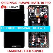 DISPLAY ORIGINALE PER HUAWEI MATE 10 PRO BLA-L09 NERO LCD TOUCH+FRAME+BATTERIA