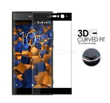 For Sony Xperia XA2 Tempered Glass Screen Protector Full Face Curved Coverage