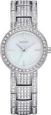 DKNY NY8051 Damen Donna Karan weiß Perle mit Kristall Glitz Case Armband