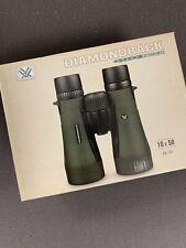 Vortex Diamondback Db 206 10 x 50 Hunting BinocularsNew In Box