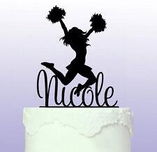 Personalised Cheerleader Cake Topper