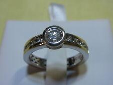 925er Silberring mit Zirkonstein Ringgroße 57 Rgk dm 7,1mm Gewich 4,56 gramm