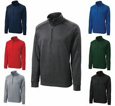 Men'S 1/4 Zip Pullover, Cool, Dry, Snag, Pill Resistant, Pocket, Athletic Xs-4Xl