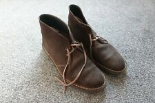 Clarks Originals Desert Boots Dark Brown Suede Mens UK9