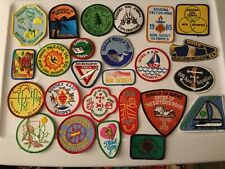 Lot Of 25 Assorted Vintage Award Olympic & Event Patches