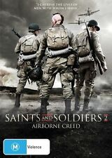 Saints And Soldiers Airborne Creed (DVD) New/Sealed [Region 4 Australia] WAR