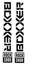 Boxxer Decal Sticker set DH MTB Freeride Downhill Moto Dirt
