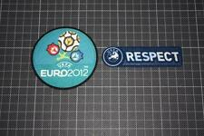 UEFA EURO CHAMPIONS 2012 and RESPECT BADGES / PATCHES