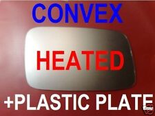 VOLVO 850 S40 V70 V40 S70  WING MIRROR GLASS CONVEX HEATED +PLATE RIGHT OR LEFT