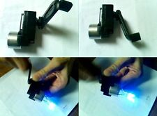 DC Hand Crank power generator Dynamo Hand held generator 100-300mA 15V/1000r