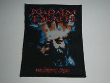 NAPALM DEATH FEAR,EMPTINESS,DESPAIR WOVEN PATCH