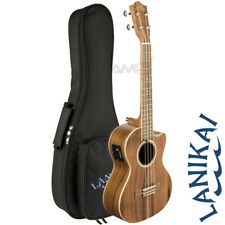 Lanikai ACACIA Series ACST-CET Cutaway Acoustic Electric Tenor Ukulele + Bag