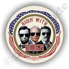 "2020 Ridin With Joe Biden President 2.25"" Abe Ike TR Campaign Pin Pinback Button"
