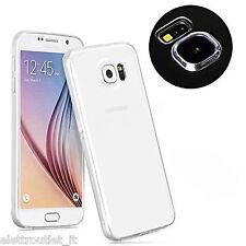 COVER Custodia Morbida TRASPARENTE GEL Silicone per Samsung Galaxy S6 SVI G920
