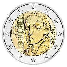 SPECIALE 2 EURO FINLAND 2012 150 JAAR GEBOORTE HELENE SCHJERFBECK BIJ JOHN