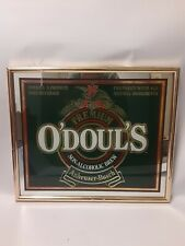 Vintage Odouls Non Alchoholic beverage Mirror Bar sign Man Cave 19 x 16