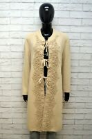 LAURA BIAGIOTTI Maglione Lungo Felpa Donna Taglia 50 Pullover Sweater Cardigan