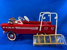 Hallmark Kiddie Pedal Car Classics 1962 Murray Red Super Deluxe Fire Truck Nos