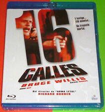 16 CALLES / 16 BLOCKS - English Español - Bluray AREA B - Precintada