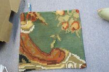 "Turkish Anatolian Kilim Pillow Cushion Hand Woven Wool 18"" x 18"" Zipper Back 56"