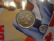 2008 Coloured Canada Quarter - Sealed from the Mint