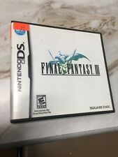 Final Fantasy Iii 3 (Nintendo Ds, 2006) Authentic! Tested! Us Version! Free Ship