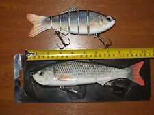Two Giant Sea Saltwater Coarse Freshwater Predator Swimbait Lures
