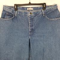 Riders by Lee Womens Jeans High Rise Relaxed Fit Denim Blue Plus Size 22W Mom