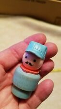 Vintage Fisher Price Train Engineer Wooden 1 only Collectible
