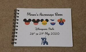 Personalised Disneyland Paris Autograph Book