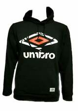 Men`s New UMBRO Hoodie Size S-M-L-XL in 7 Colours Hooded Sweatshirt